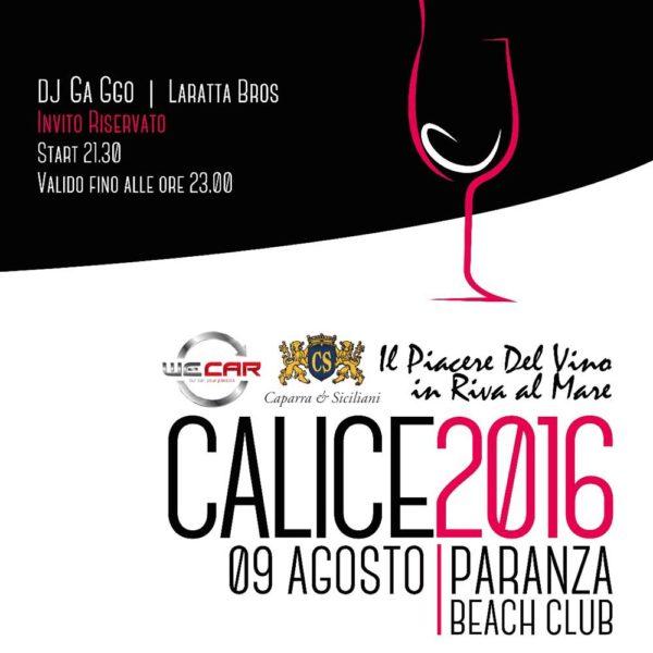 09/08/2016 – Paranza Beach Club